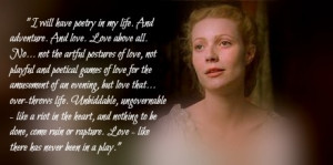 Shakespeare in Love - ViolaTheatres Quotes, Viola Shakespeare