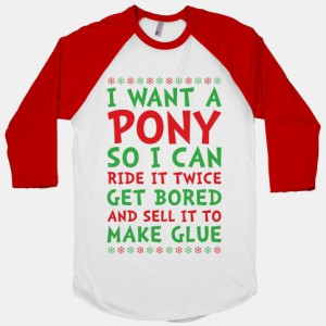 Grinch Pony #christmas #movie #quote #grinch #pony #funny #mean