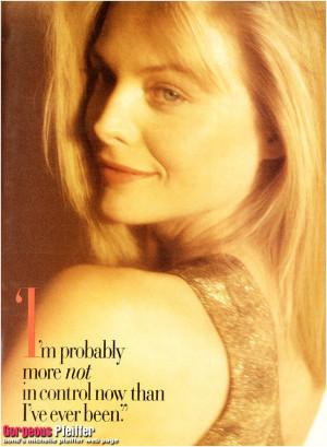 Michelle Pfeiffer Michelle Pfeiffer