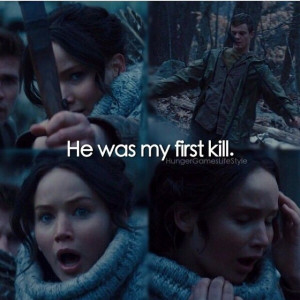 Flashbacks / PTSD / Catching Fire I felt so bad for Katniss here.