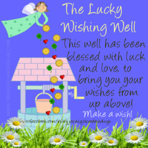 good luck, horseshoe, wishing well, lucky charm, lucky butterfly ...