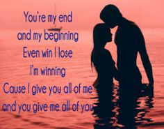 All Of Me John Legend Lyrics Quotes All of you --- john legend