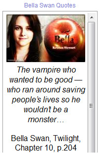 Tags : bella swan quotes