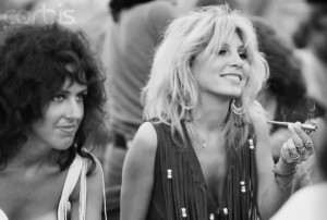 with Sally Mann at Woodstock. Future wife of Spencer Dryden, drummer ...