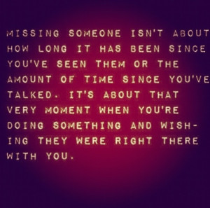 miss people quotes for someone special quotes about someone special ...