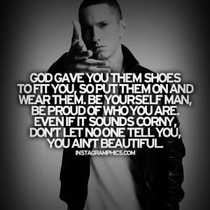 Eminem Quote God