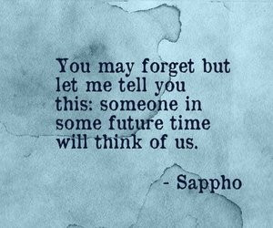 Tagged with sappho