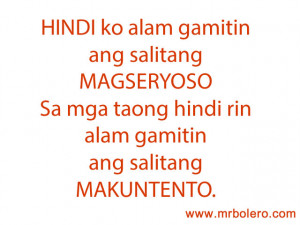 ... wide source of Tagalog love quotes for your love ones