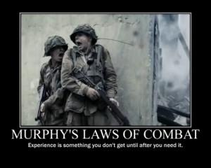 Murphy's law of combat - Military humor