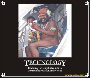 Funny Technology – I'm Tired Using Technology