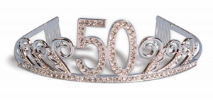 2014 new party hat Happy 50th birthday tiara crown