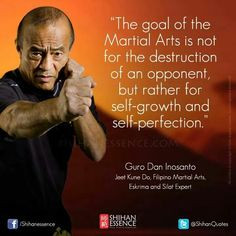 Martial arts philosophy, mentality, and quotes from iconic martial ...