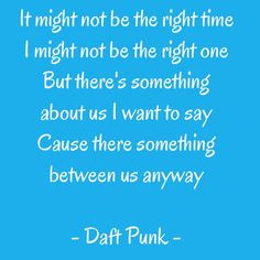 daft punk quotes