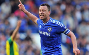 Leading from the front ... again: John Terry has been back to his best ...