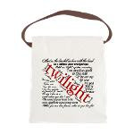 Twilight quotes Canvas Lunch Bag