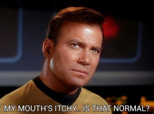 Love!! ... actual quote from Captain James T. Kirk !! #startrek