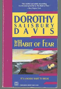 Details about DOROTHY SALISBURY DAVIS The Habit of Fear PB 1989