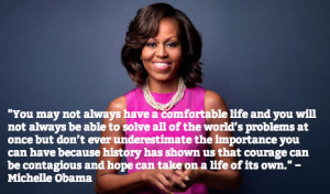 Michelle Obama Quotes On Women Michelle obama. http://parade.
