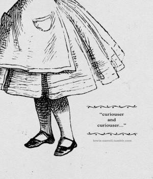 lewis-carroll:Alice's Adventures in Wonderland quotes¾