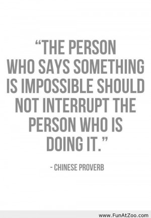 Funny Chinese proverb