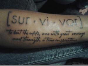 , Survivor Tattoo, Tattoos Rebellion, Tattoos Quotes, Secret Tattoo ...