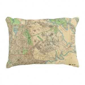 Bronx, New York Accent Pillow