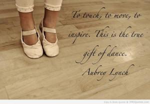 Ballet Quotes By Famous Dancers Famous dance quotes