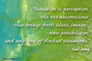 Intuition is not your 6th sense, it is your essence.
