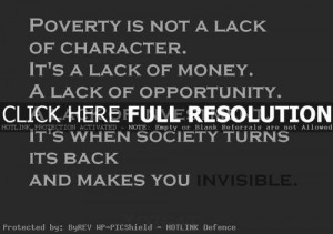 Poverty Pictures With Quotes Poverty quotes