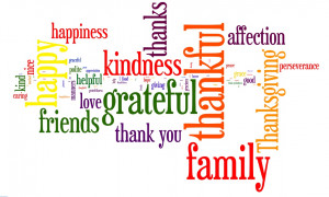 Have you guessed what the habit is? It is simply Gratitude.