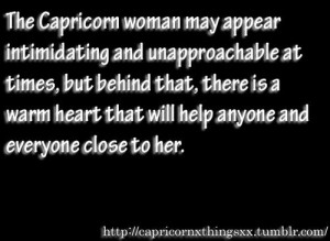 Capricorn Woman Quotes