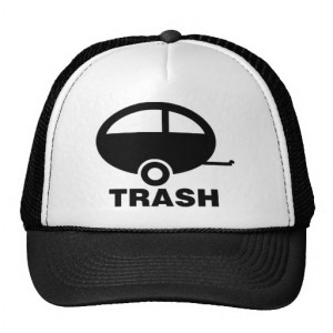 Trailer Trash ~ RV Travel Camping Mesh Hat