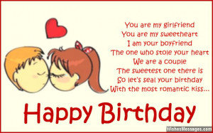 birthday poems for girlfriend wish your girlfriend a happy birthday by ...