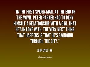 Spider Man Love Quotes