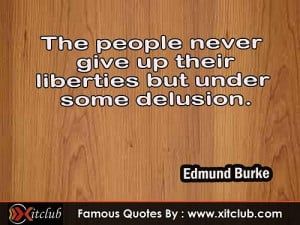 You Are Currently Browsing 15 Most Famous Quotes By Edmund Burke