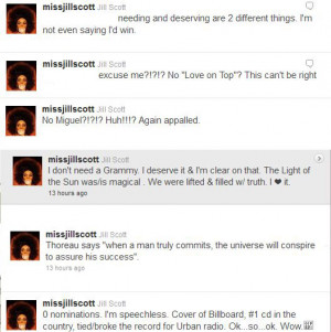 Quotes of the Day: Jill Scott Shares Feelings On Beyonce & Miguel ...
