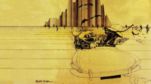 Fear and Loathing in Las Vegas Ralph Steadman illustration