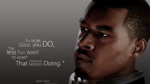 Mass Effect quote Wallpaper