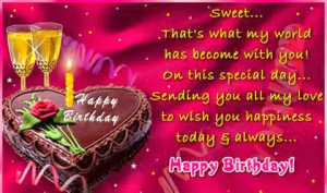 Happy Birthday Wishes For Someone Special Quotes ~ Birthday Wishes For ...