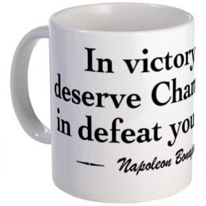 Champagne Gifts > Champagne Mugs > Napoleon Wine Quote Mug