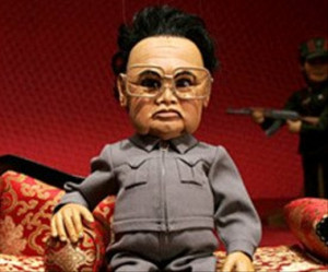 The Great Leader - no, hang on, that's a puppet caricature, oops!)