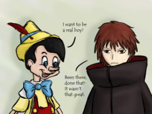 Sasori and Pinocchio Image
