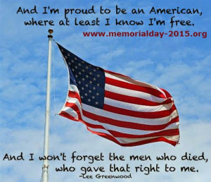 Memorial Day 2015 Thank You Quotes and Sayings