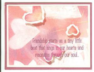 Printable Friendship Greeting Cards