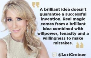 Words of wisdom from Lori Greiner. #SharkTank #Business