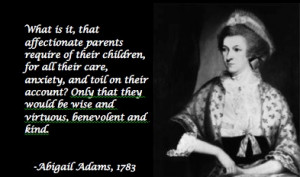 Abigail Adams quote.