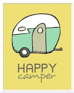 rv more happi camper travel art travel tips vintage signs retro ...
