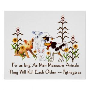 Pythagoras Quotes Vegetarian Quote