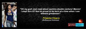 SACHIN 'GOD OF CRICKET' BEST 110 LEGEND'S QUOTES ON SACHIN