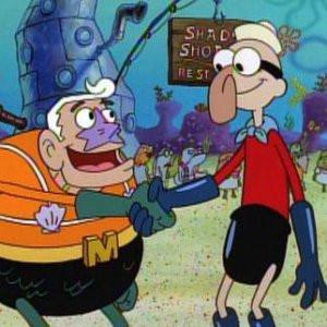 Boy Man Mermaid Spongebob SquarePants